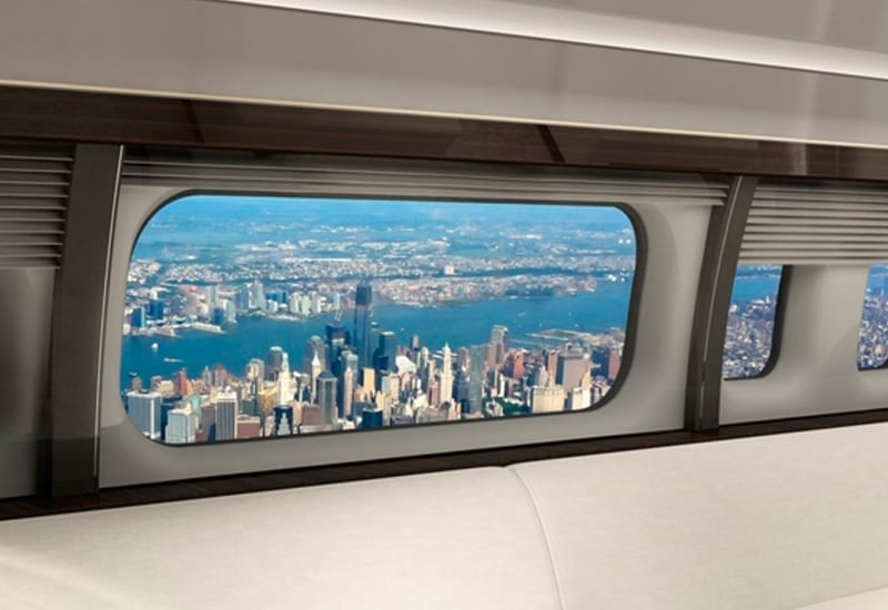 Boeing open up their planes to world with world's largest window